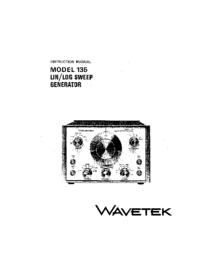 Wavetek Model 135