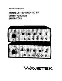 Wavetek 180 LF