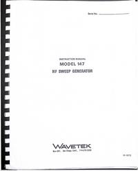 Wavetek 147