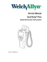 Welchallyn SureTemp® Plus 690