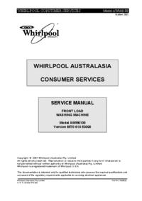 Whirlpool AWM6100