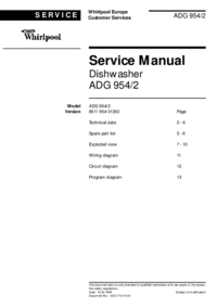 Service manual whirlpool adg 9542 download your lost manuals manual type service manual whirlpool 4641 manual page 1 picture solutioingenieria Image collections