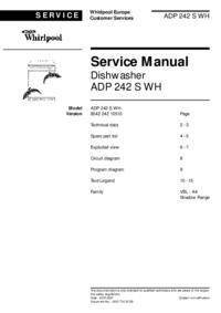 Whirlpool ADP 242 S WH