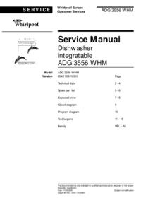 Whirlpool ADG 3556 WHM