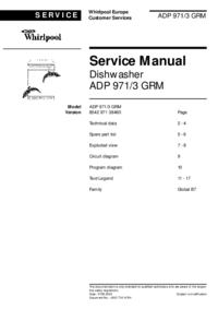 Whirlpool ADP 971/3 GRM