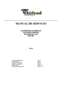 Whirlpool AWH 091