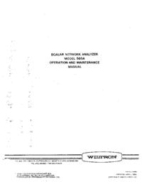 Wiltron 560A