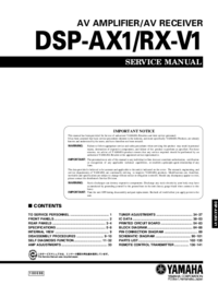 Yamaha DSP-RX-V1