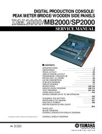 Yamaha SP2000