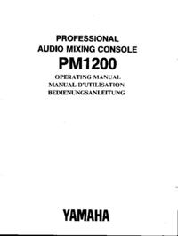 Yamaha PM1200