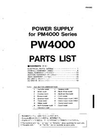 Yamaha PW4000