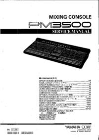 Yamaha PM3500