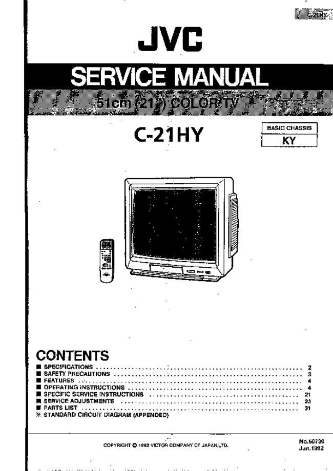 Jvc -- C-21hy
