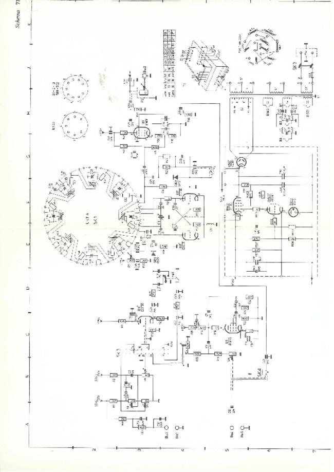 Cirquit Diagram Philips PM 5320
