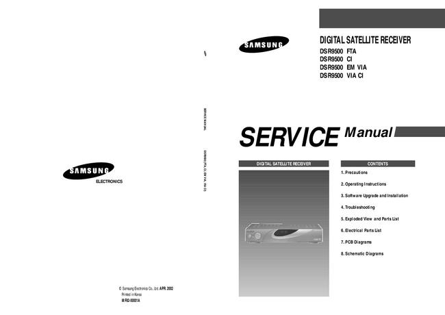 Service Manual Samsung DSR9500 VIA CI