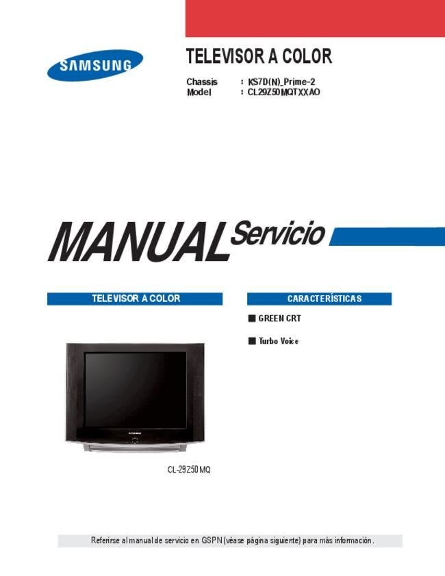 Service Manual Samsung KS7D(N)_Prime-2