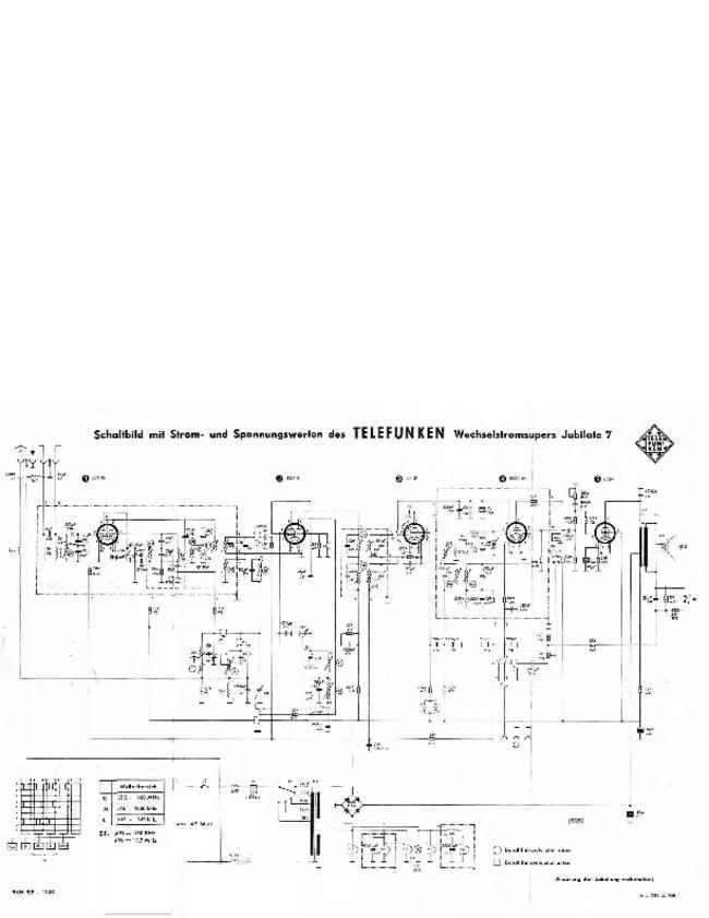 Telefunken -- Jubilate 7 -- Download your lost manuals for free