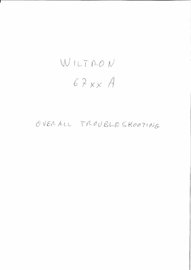 User Manual Wiltron 6700A Series
