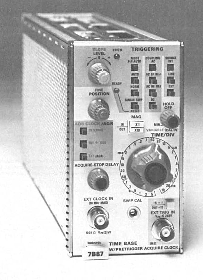 Tektronix -- 7b87
